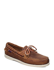 Docksides Crazy H - BROWN TAN
