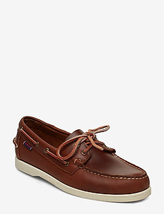 Docksides Portland Waxed - BROWN