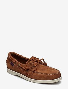 Docksides Portland - boat shoes - brown cognac