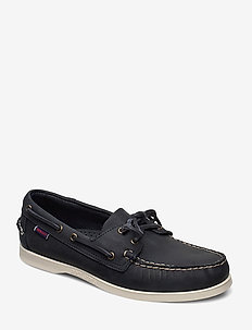 Docksides Crazy H - seglarskor - blue navy