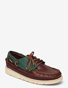 Seneca - chaussure bateau - green pine