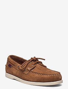 Portland Flesh Out - chaussure bateau - brown cognac