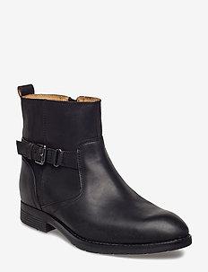 Nashoba Chelsea Wp - flate ankelstøvletter - black