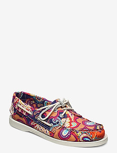 Docksides - instappers - persia print