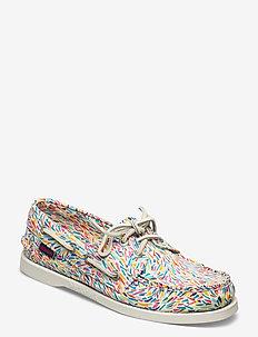 Docksides - loafers - karter print