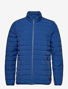 Port Light Seamless Jacket - toppatakit - mid blue