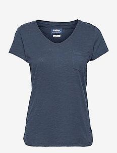 Lidia Tee Lavendel - t-shirts - navy