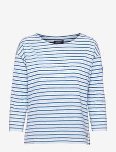 Docksides Sail Top - långärmade toppar - blue/white