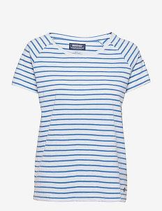 Docksides Sail Tee - t-shirts - blue/white