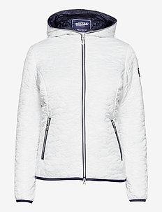 Hailey Light Weight Jacket - quiltade jackor - white