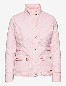 Cathrine Quilted Jacket - quiltade jackor - light pink