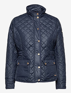 Cathrine Quilted Jacket - quilted jakker - navy