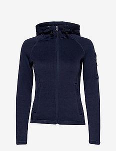 Performance W Tech Fleece Zip - hoodies - dark grey