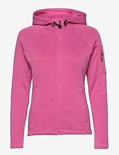 Performance W Tech Fleece Zip - hoodies - sugar pink