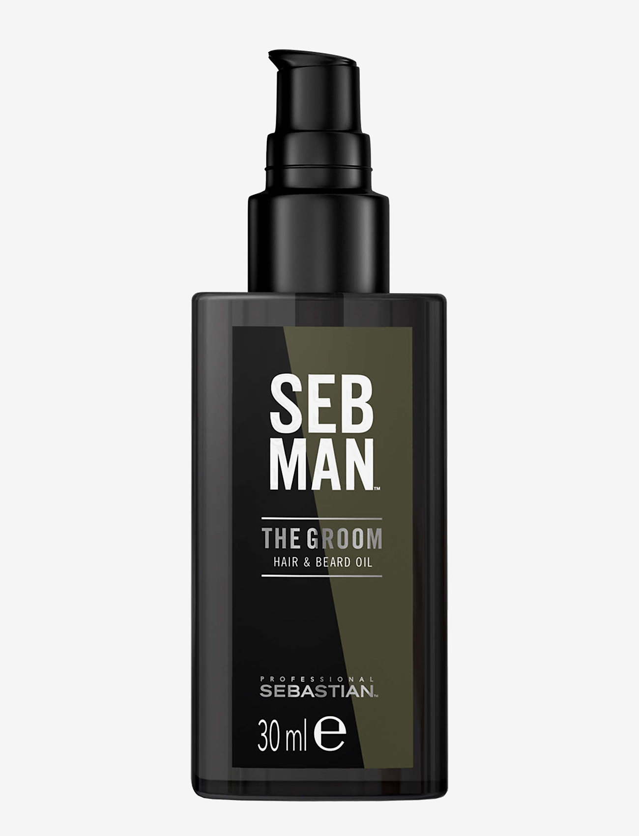 Sebastian Professional - SEB MAN THE GROOM HAIR & BEARD OIL - skægolie - no colour - 0