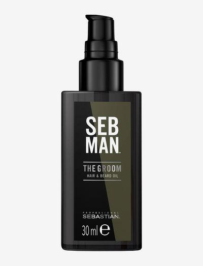 SEB MAN THE GROOM HAIR & BEARD OIL - skjeggolje - no colour