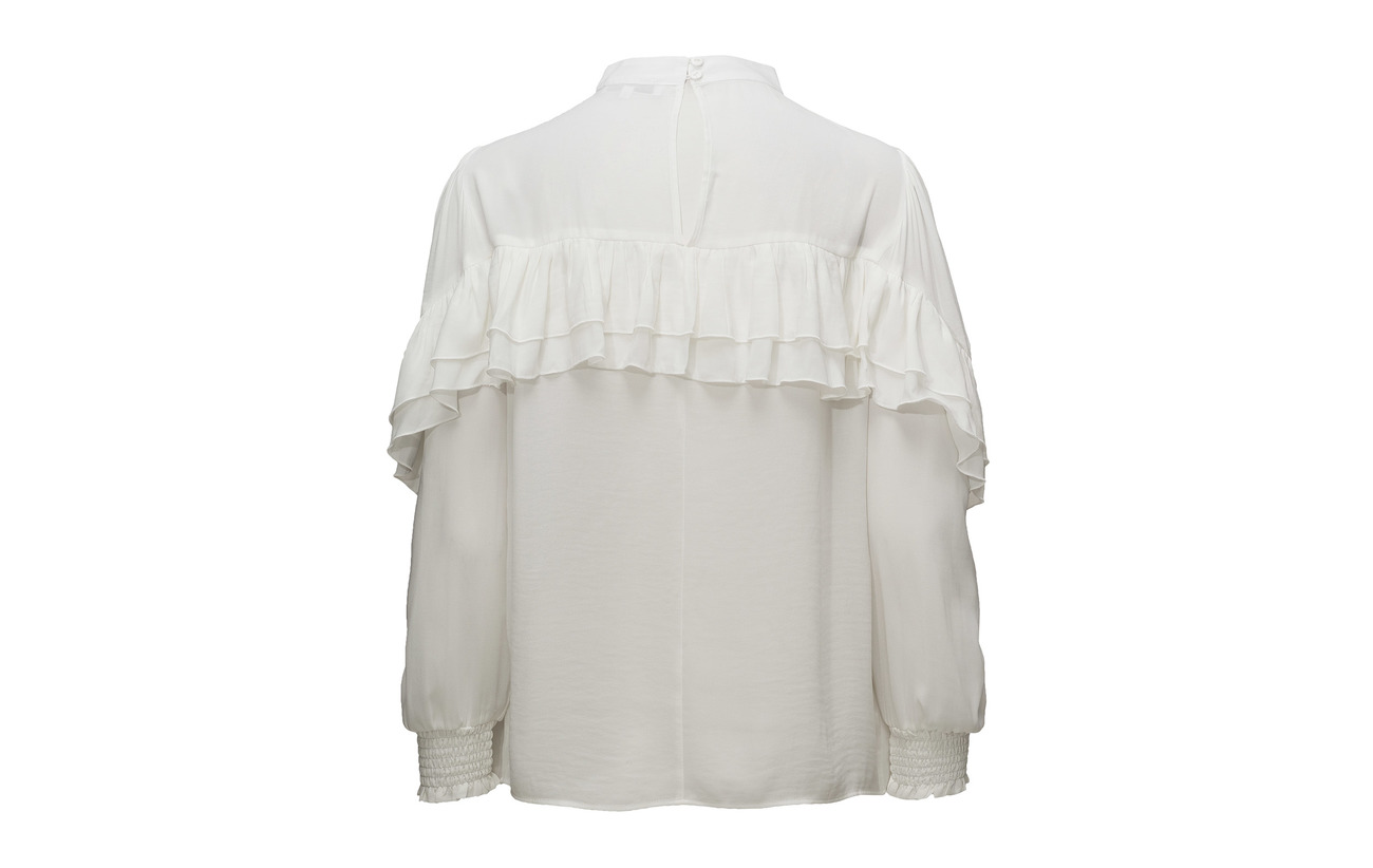 Polyester 100 Blouse Kiwa Female White Second wqOv4XB