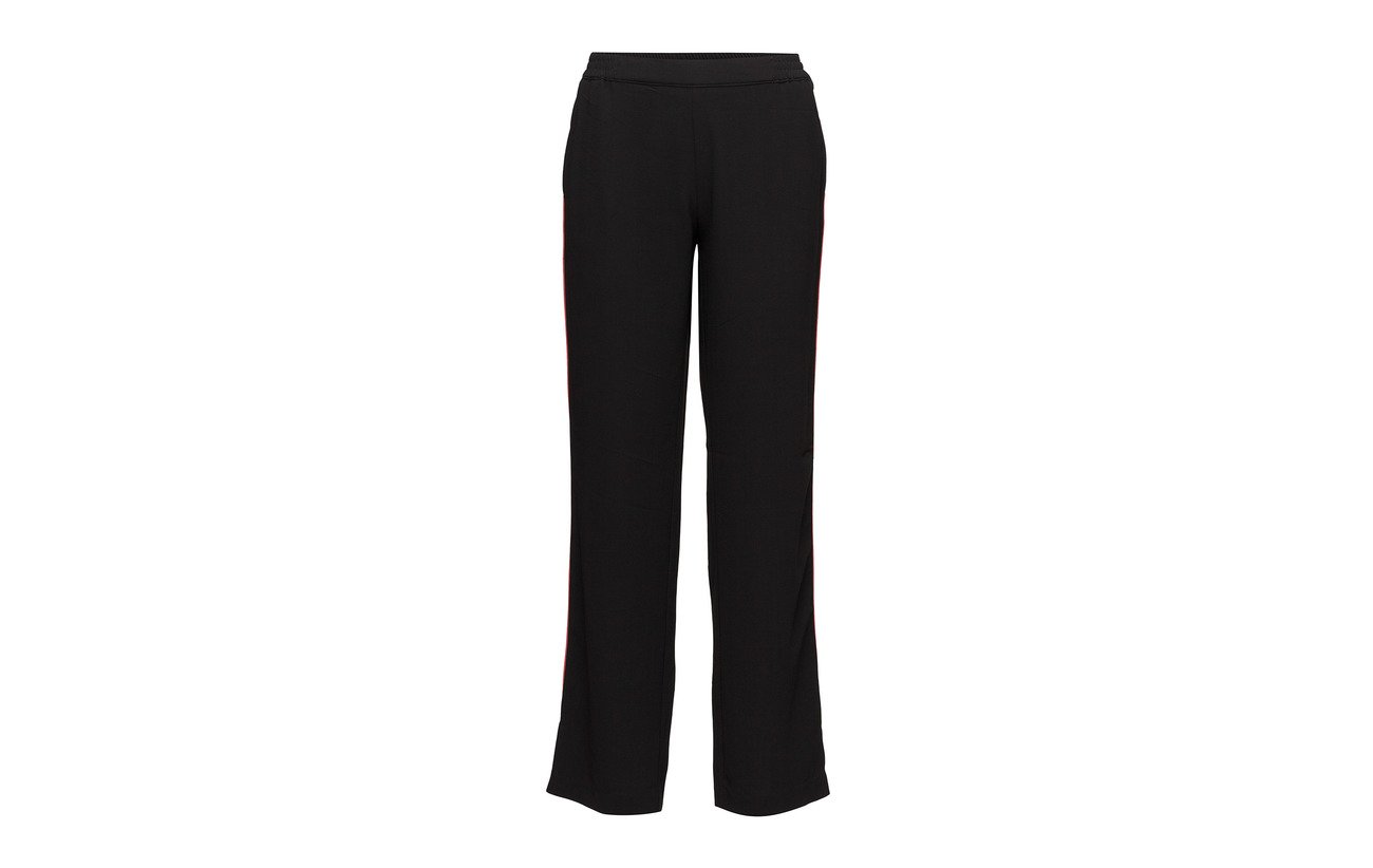 Black 100 Polyester Tricky Female Trousers Second tWYZTq