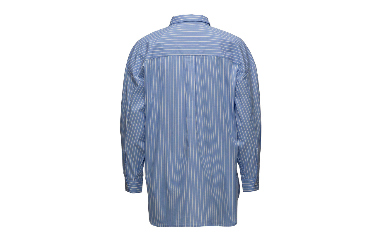 Blue Shirt Second Coton Flossy Female 100 qtSSE