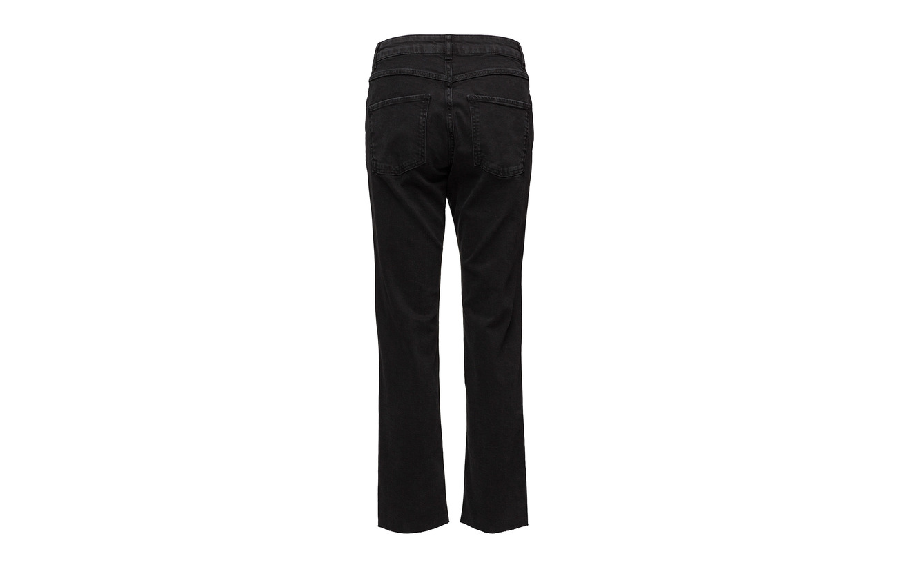 Coton Female Black Jeans Mw Elastane 2 98 Second Mille pq7wdYY