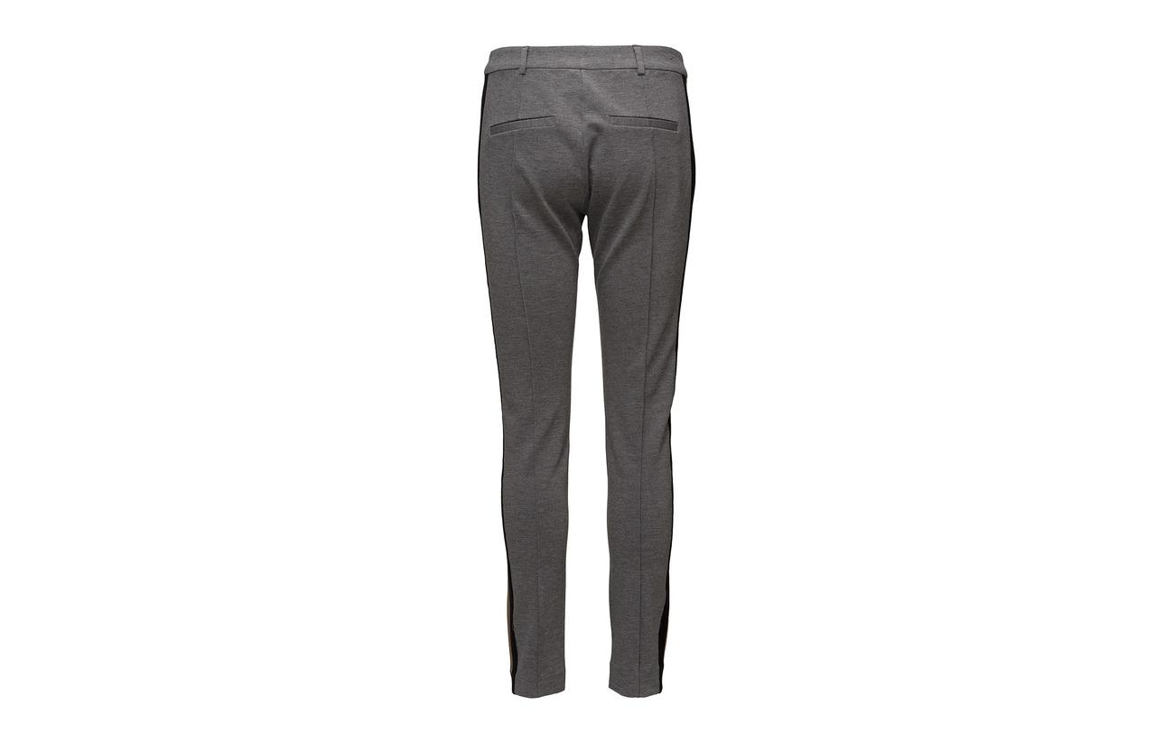Viscose Female Pants 5 Melange Elastane 29 Polyester 66 Halina Grey Second PgwCUg