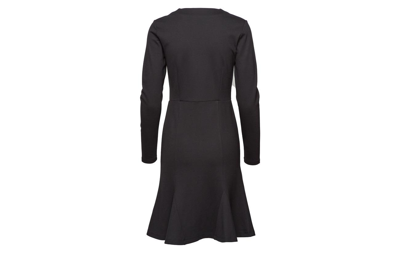 Black Second Female Viskose Nylon Dress 5 Elasthan 30 65 New Omami rrInOTwqH