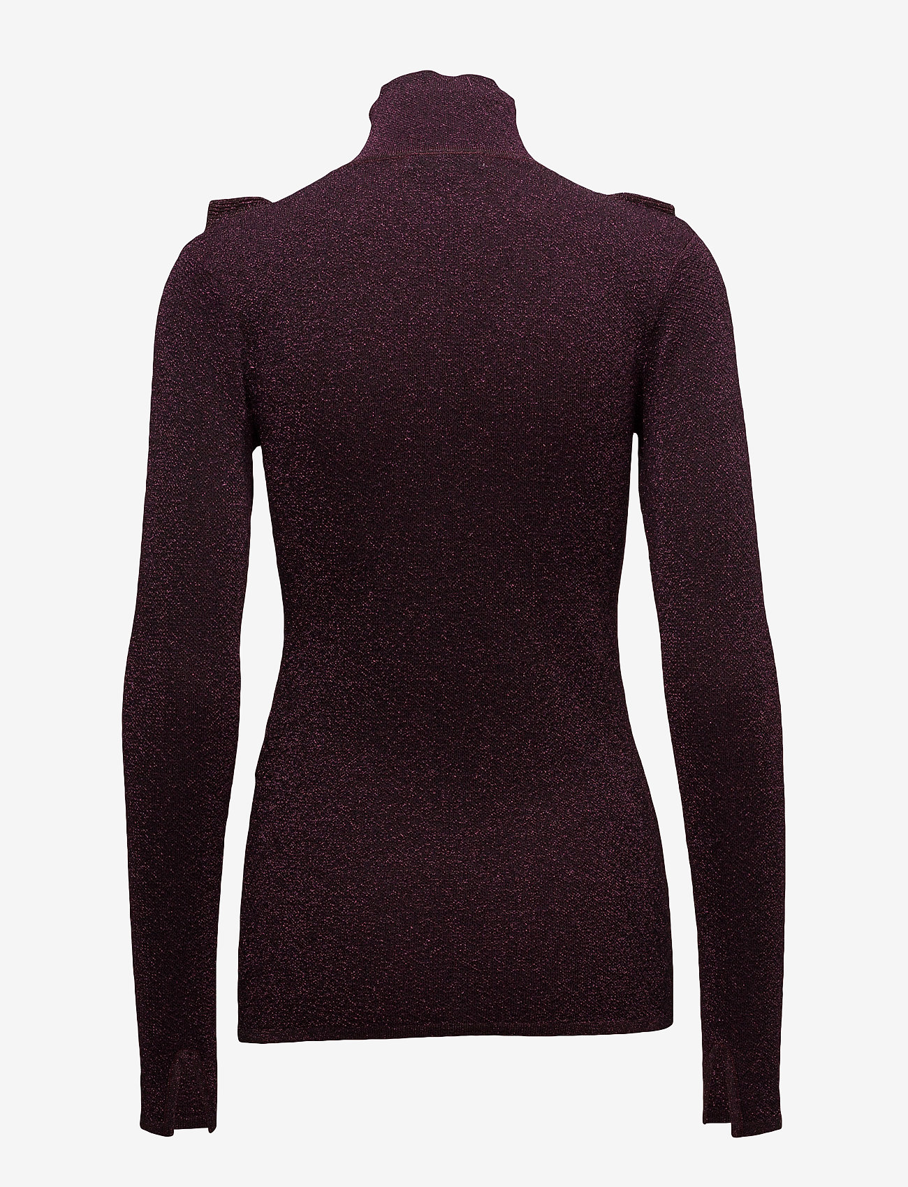 Second Female - Idal Knit T-neck - turtlenecks - port royale - 1