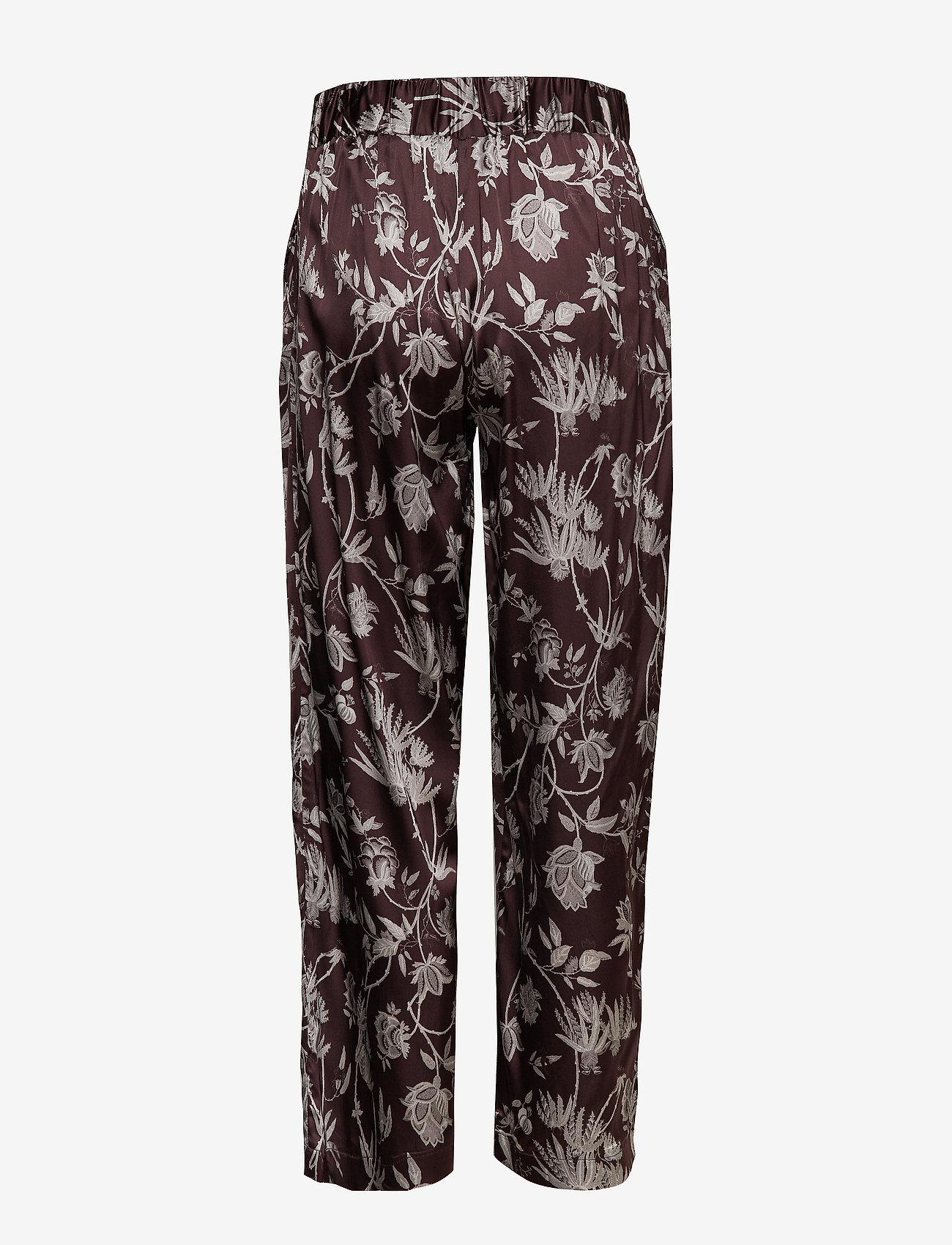 Lila Mw Trousers (Chocolate Plum) - Second Female Kn3DjY