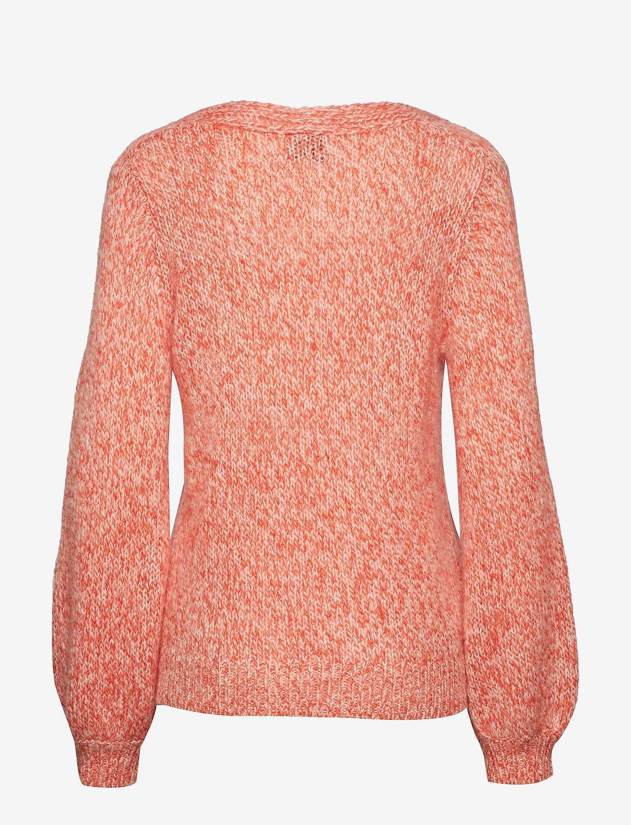 Second Female - West Knit V-Neck - jumpers - gossamer pink