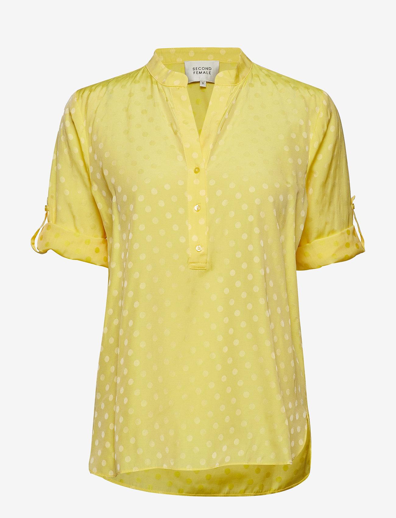 Second Female - Mardi Blouse - long sleeved blouses - sunshine