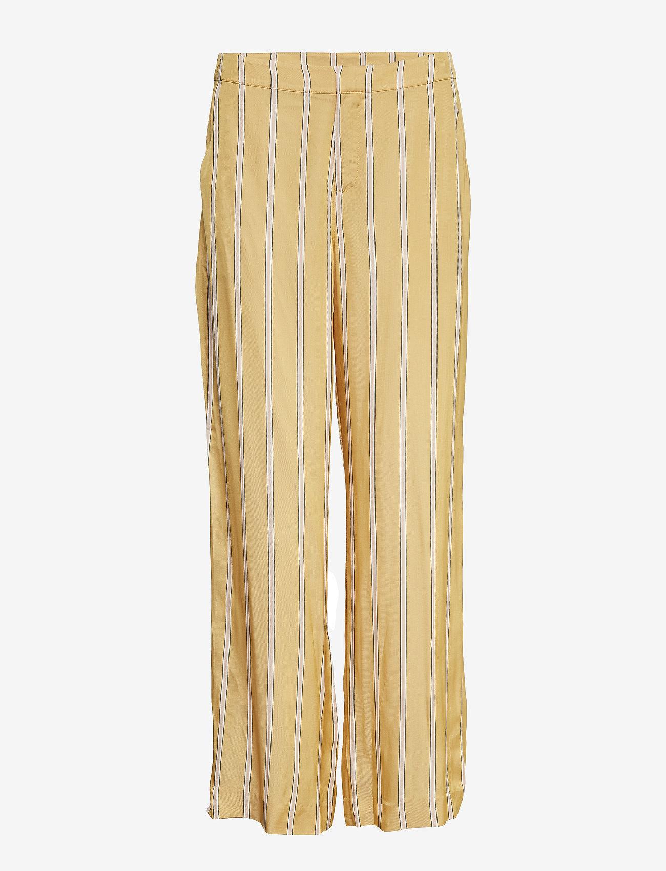 Second Female - Meril Trousers - wide leg trousers - sesam