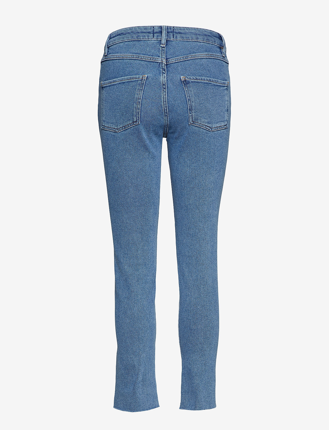Second Female - Sille HW Jeans - straight jeans - blue denim