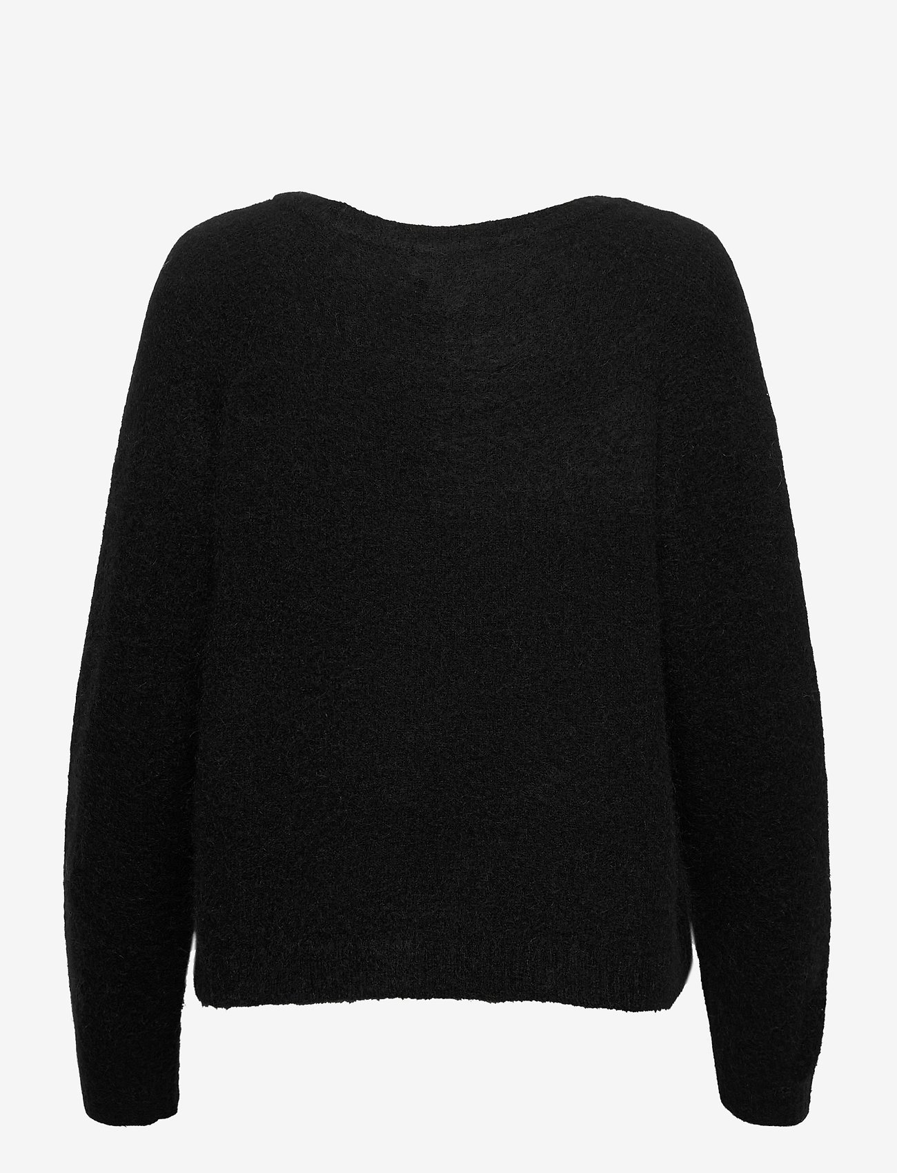 Second Female - Brook Knit O-Neck - trøjer - black - 1
