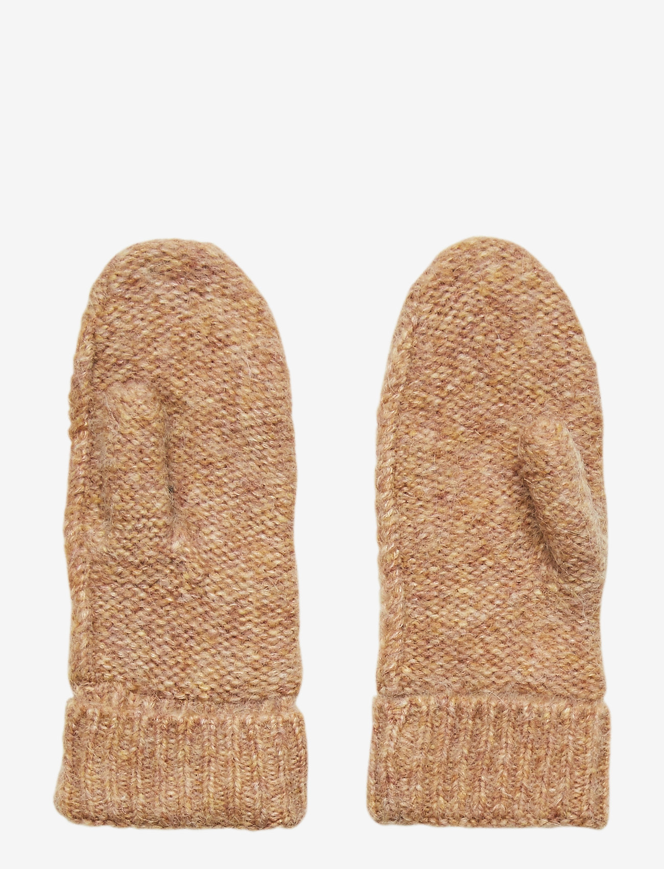 Second Female - Pinea Knit Mittens - rękawiczki - lark - 1