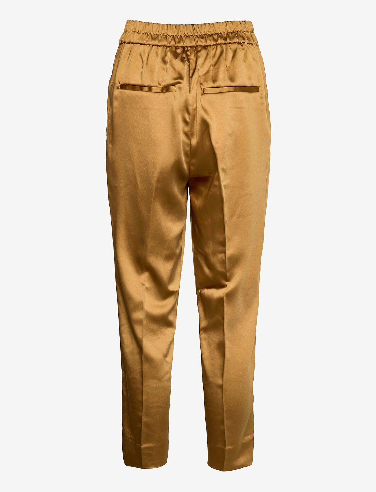 Second Female - This elegant trousers are made from a luxurious po lyester s - bukser med lige ben - bistre - 1