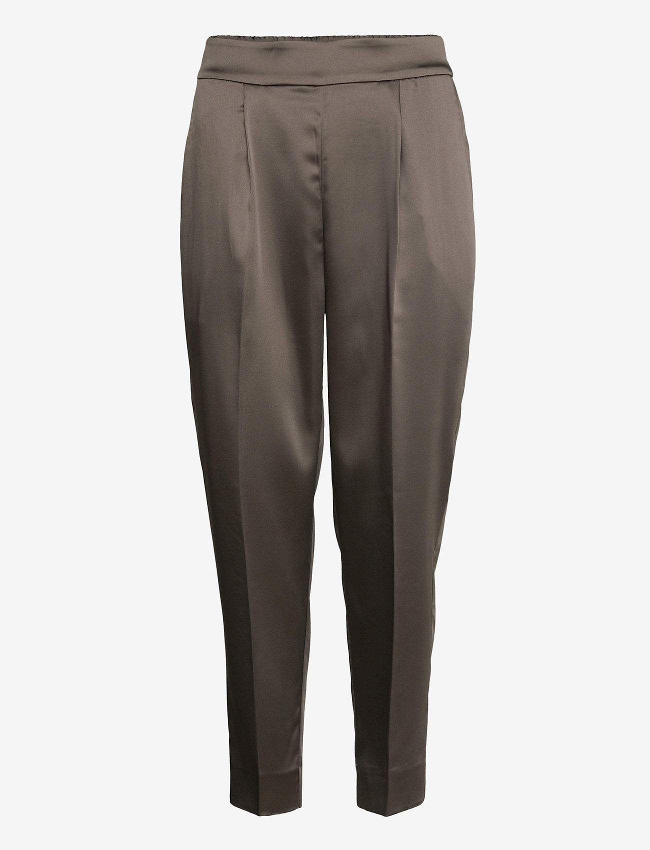 Second Female - This elegant trousers are made from a luxurious po lyester s - bukser med lige ben - sea turtle - 1