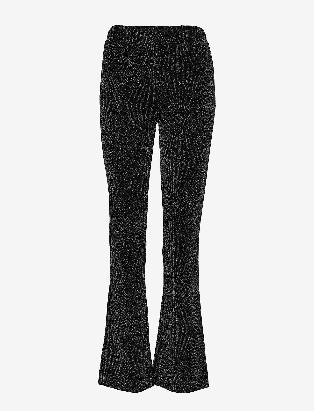 Second Female - Marisa MW Trousers - bukser med brede ben - black - 0