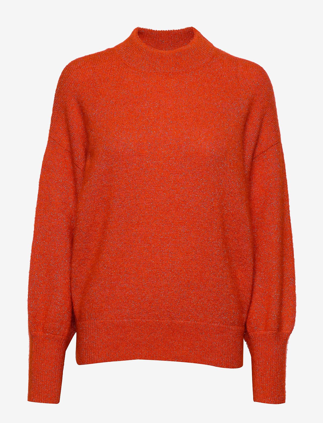 Second Female - Phoenix Knit Loose O-Neck - pulls - pureed pumpkin - 0