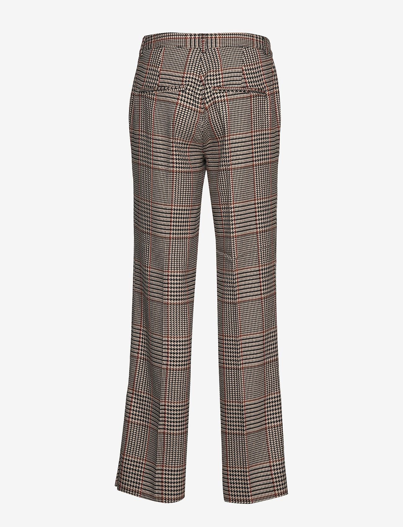 Second Female - Ainine HW Trousers - bukser med lige ben - black - 1