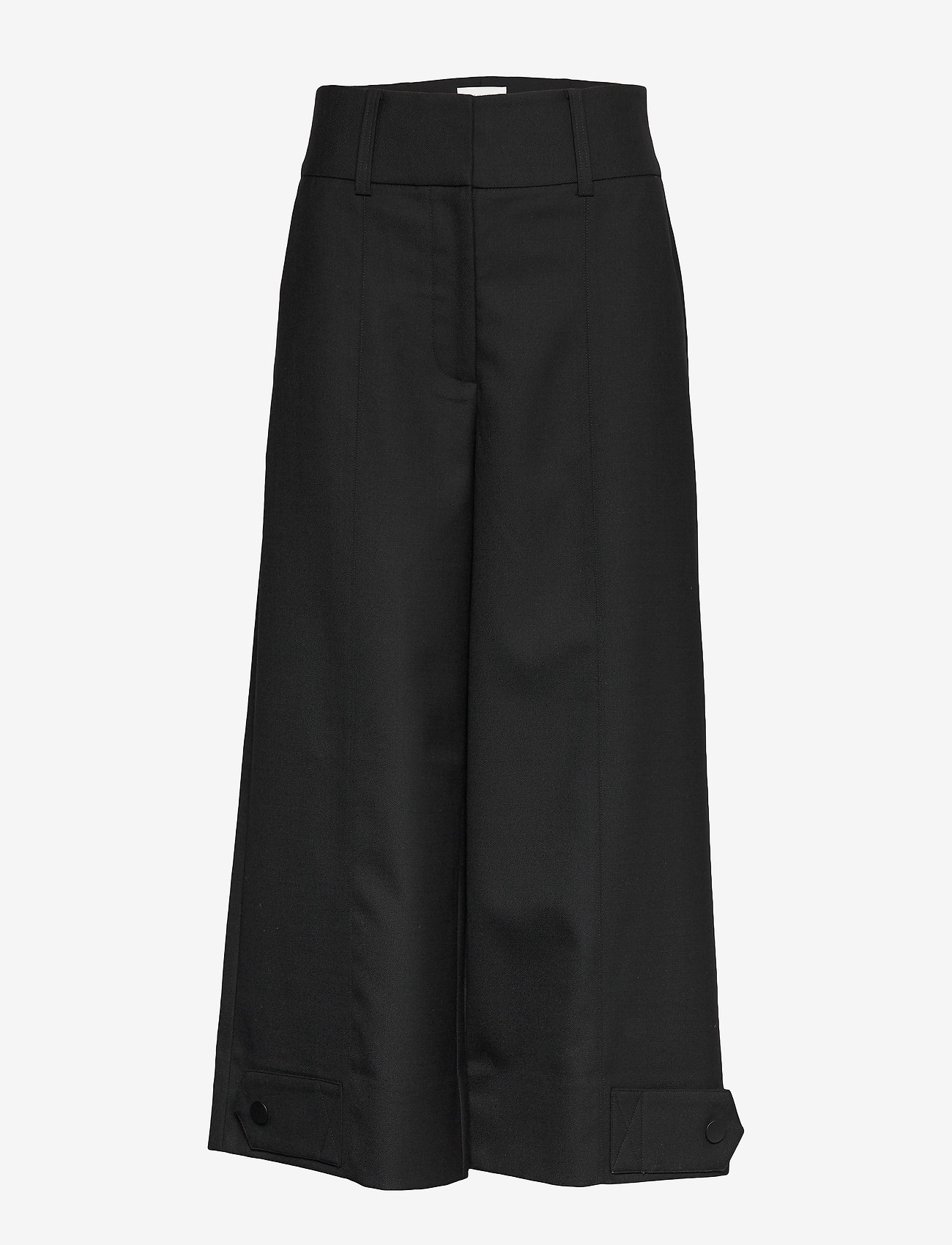 Second Female - Madison HW Trousers - vide bukser - black - 0
