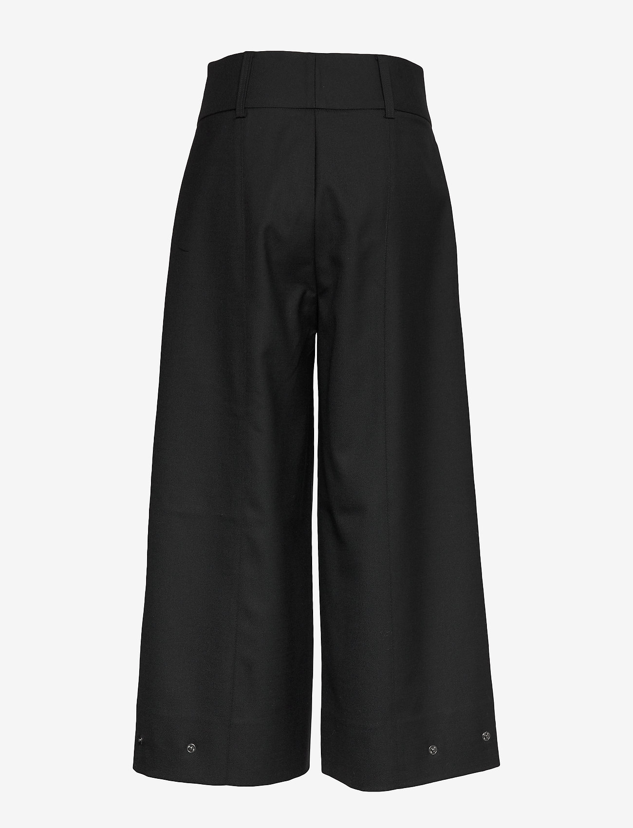 Second Female - Madison HW Trousers - vide bukser - black - 1