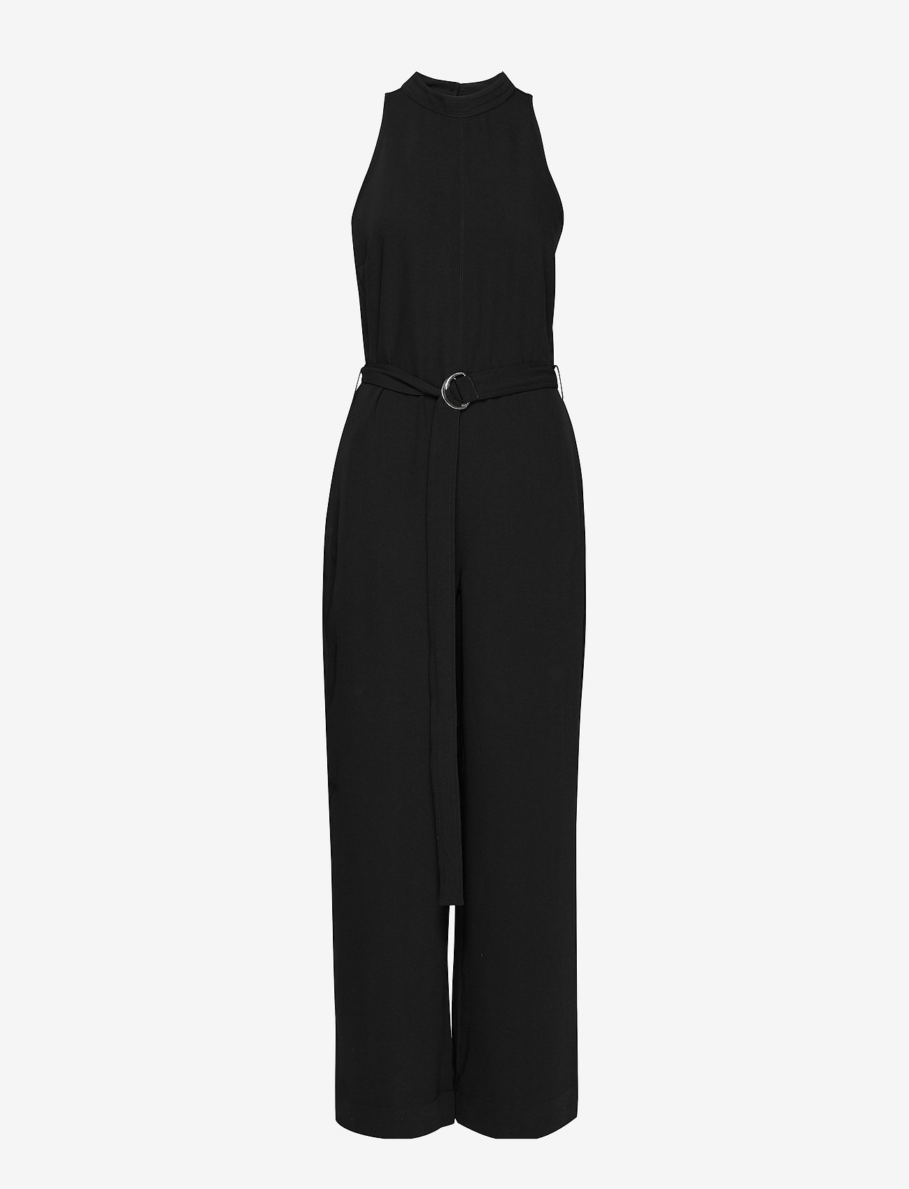 Second Female - Hannah Jumpsuit - buksedragter - black - 0