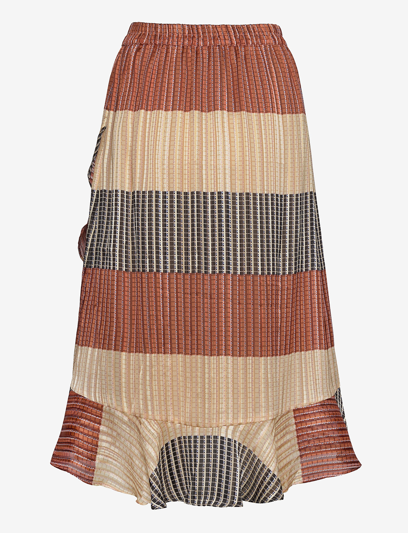 Second Female - Board MW Wrap Skirt - midi skjørt - apricot brandy - 1
