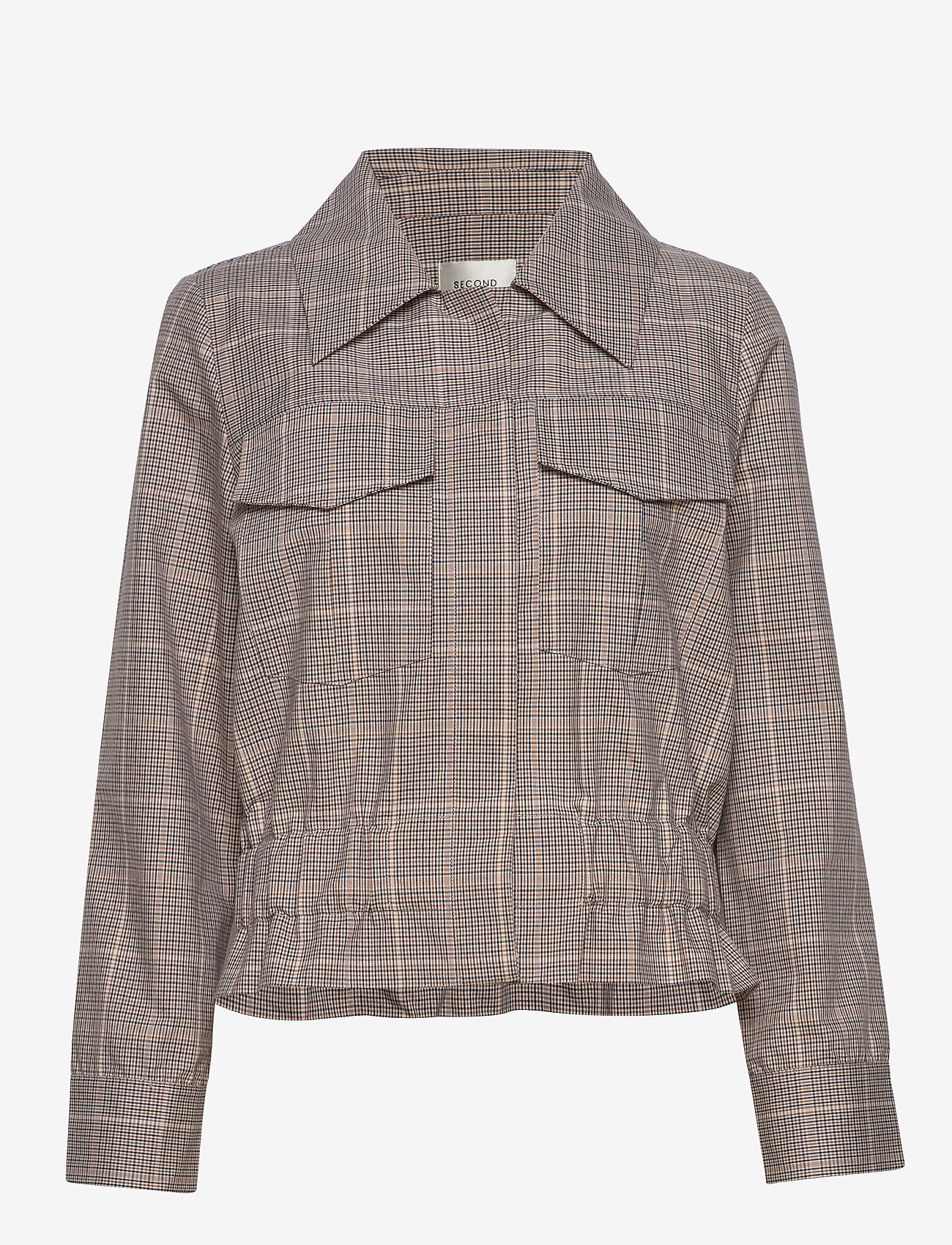Second Female - Jimena LS Shirt - lichte jassen - rubber - 1