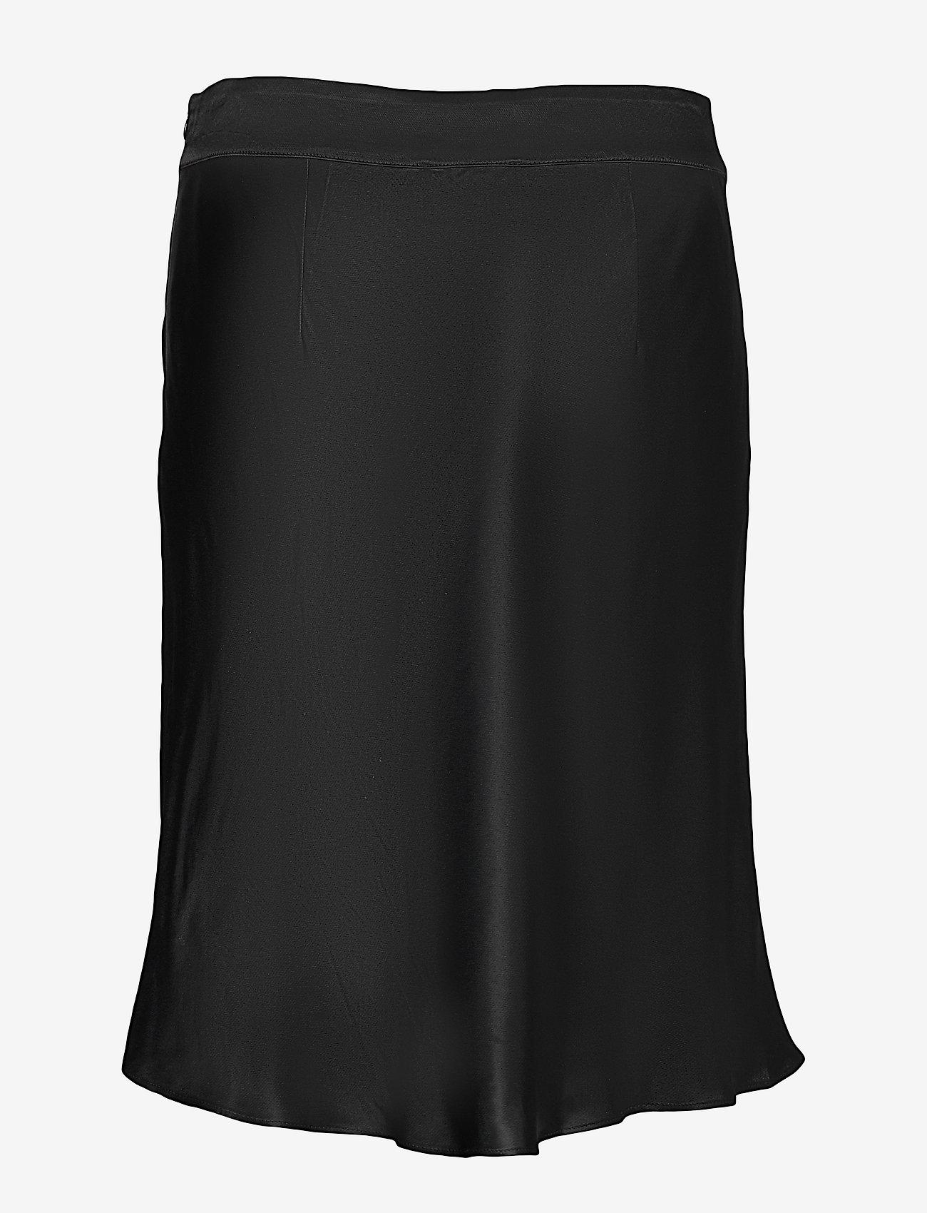Second Female - Eddy MW Short Skirt - midi kjolar - black - 1