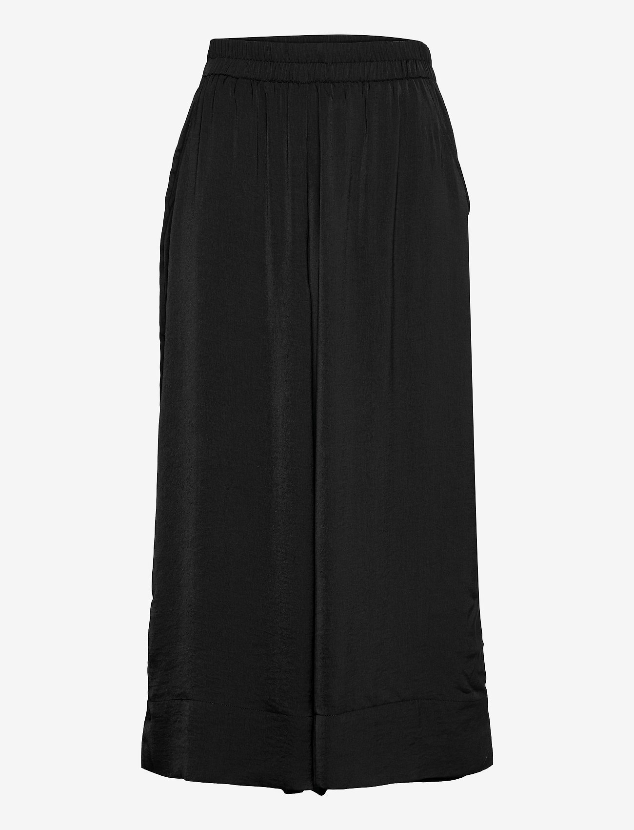 Second Female - Minga New Trousers - bukser med brede ben - black - 1