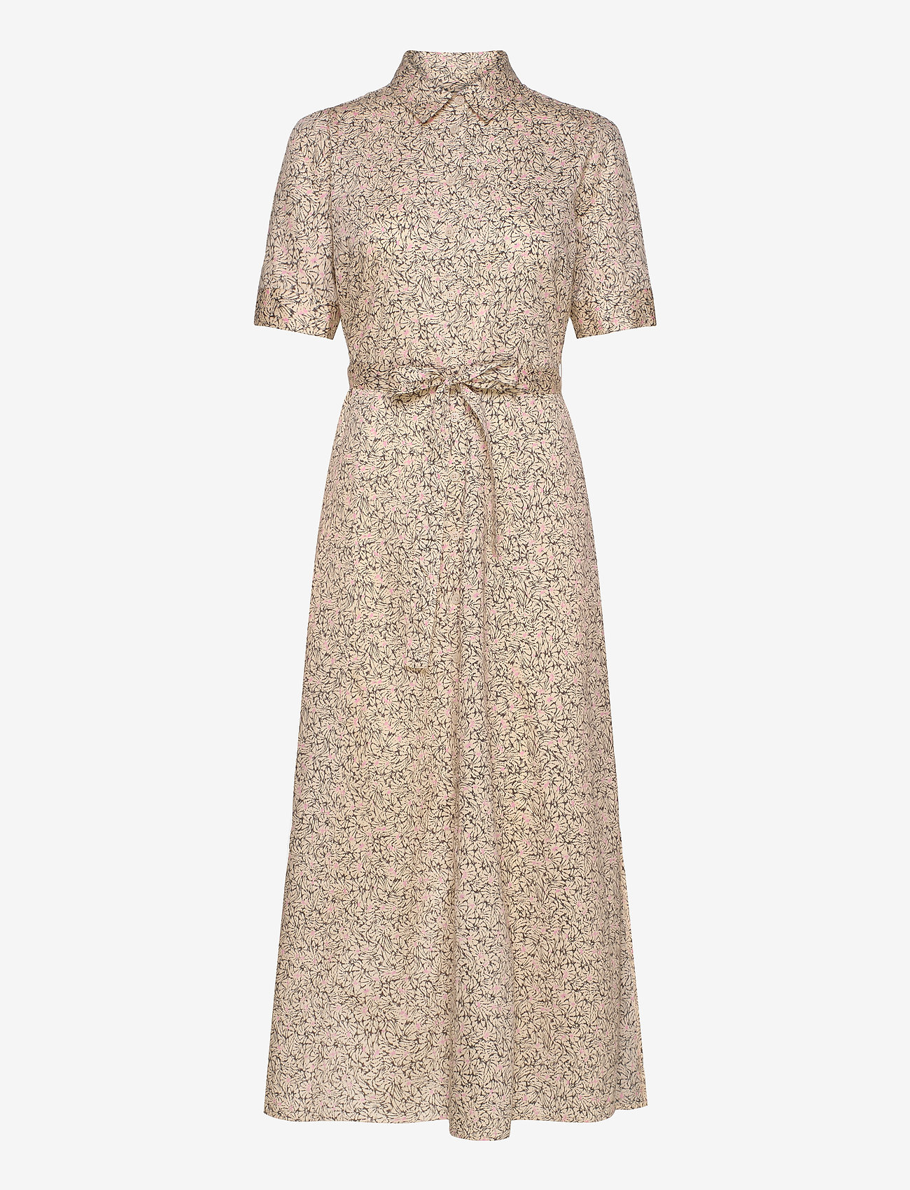 Second Female - Wing Maxi Dress - sommarklänningar - macadamia - 0