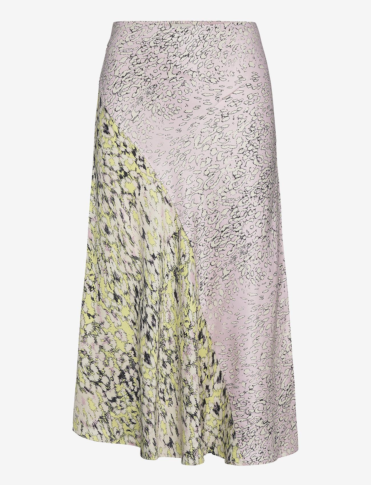 Second Female - Sine MW Midi Skirt - midi kjolar - tender yellow - 0