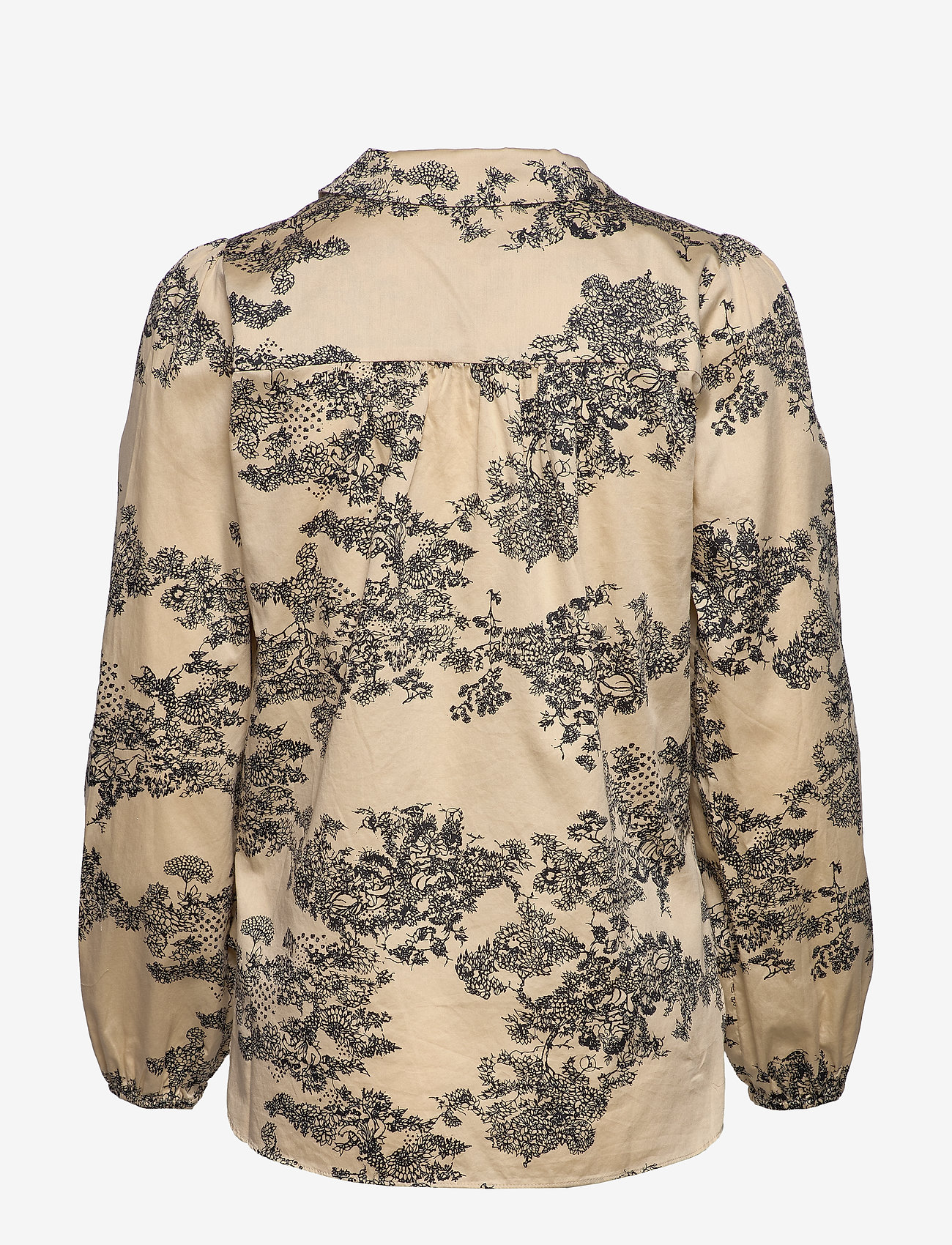 Picnic Ls Shirt (Pebble) (95 €) - Second Female 7C4M8