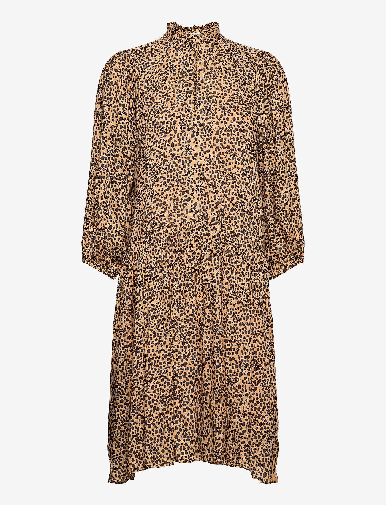Second Female - Eli Dress - midiklänningar - desert mist - 0